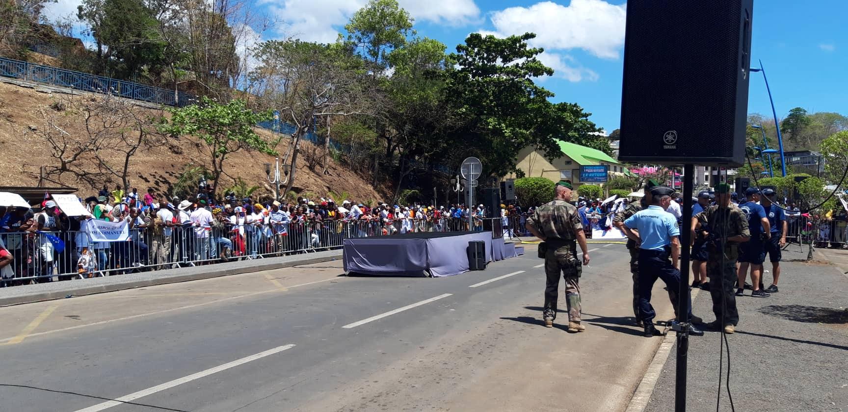 Visite officielle du Président Emmanuel Macron, à Mayotte, 22 oct 2019