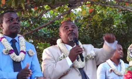 Ahmed Darouèche, maire d'Acoua investit pour un deuxième mandat
