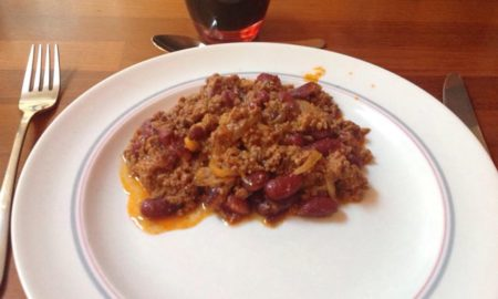 Chili con carne, photo Nadine