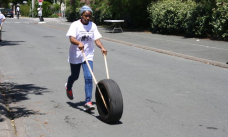 Course de pneus à la mahoraise Angers juin 2019