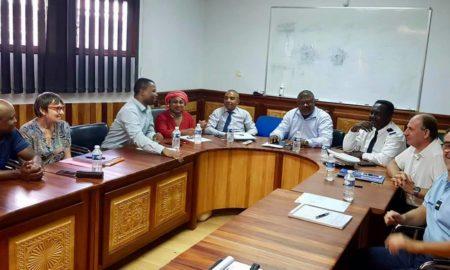 Réunion de prévention contre la délinquance à la Mairie Acoua