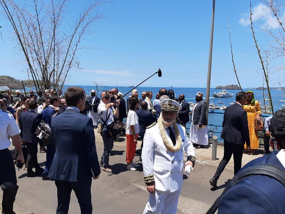 Visite officielle d'Emmanuel Macron à Mayotte, 22 octobre 2019
