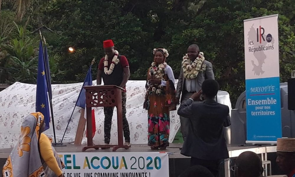 LR en meeting à M'tsangadoua, 24 nov 2019