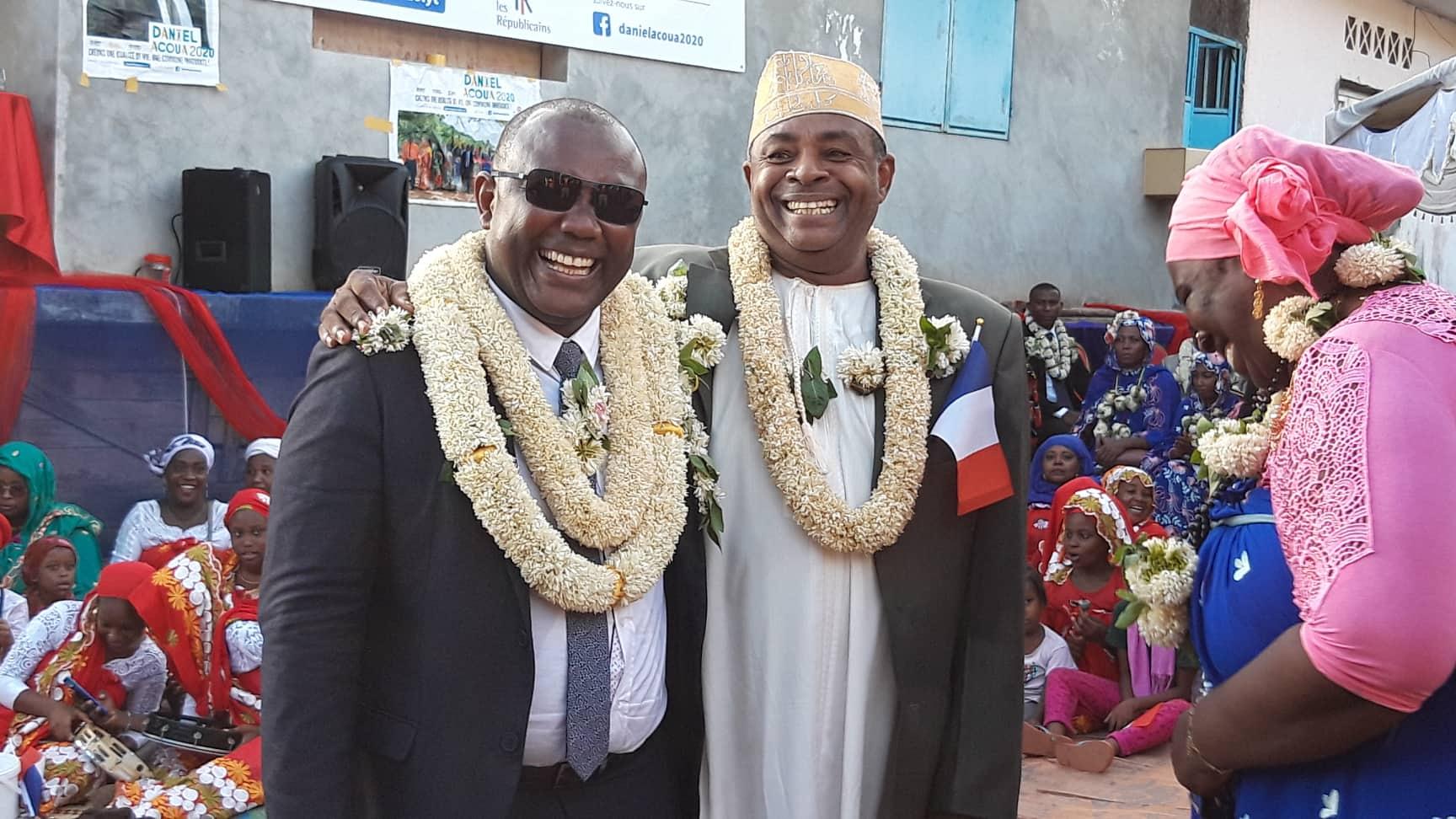 LR en meeting officiel à Acoua, 15 février 2020