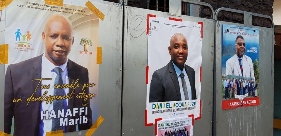 Premier tour des élections municipales Acoua, 15 mars 2020