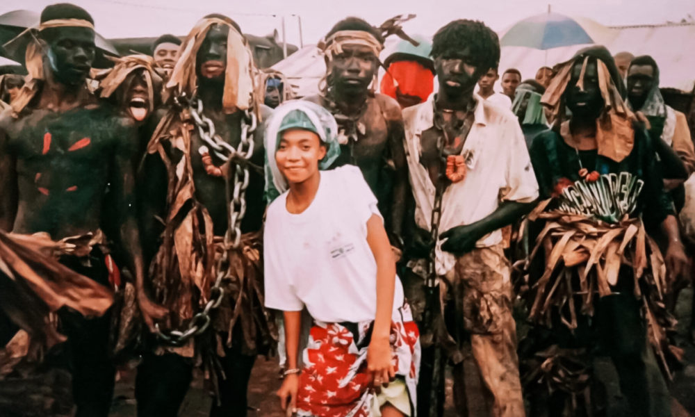 Le carnaval Acoua, 27 avril 1998