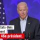 Capture d'écran Joe Vide, élu Président des USA, 7 11 2020