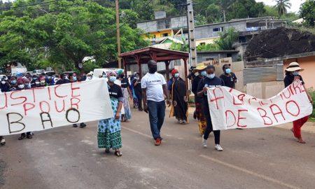Marche blanche Hommage à Bao Acoua 01 11 2020