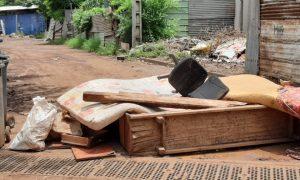 Barrage des sinistrés Acoua 09 03 2021