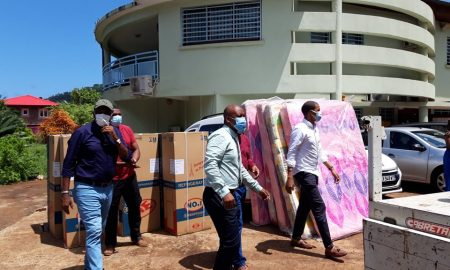 élan de solidarité aux sinistrés Acoua