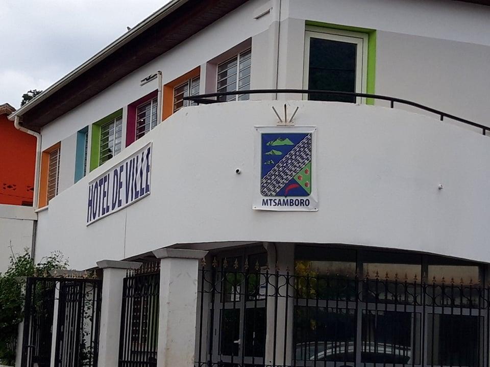 Mairie de M'tsamboro 10 04 2021
