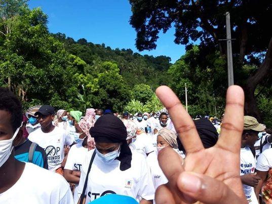 Marche blanche en hommage à Miki samedi 17 04 2021